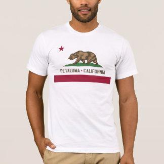 Camiseta Petaluma: Bandeira do T de Califórnia