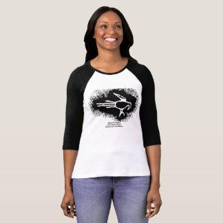 Camiseta Petroglyph do Macaw, garganta de Boca Negra, New