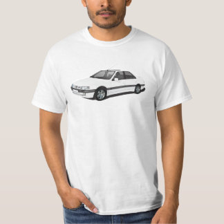 Camiseta Peugeot 405 - branco