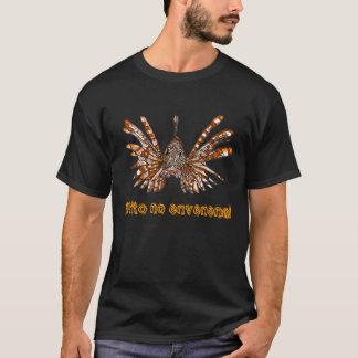 Camiseta Pez León/Frito nenhum Envenena