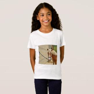 Camiseta Pferdeportrai - Girls' Fine jérsei alpargata