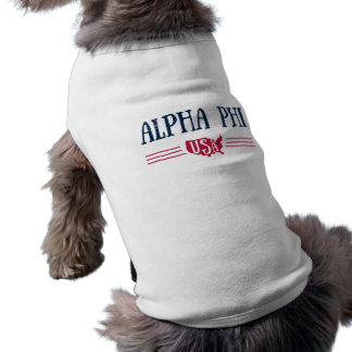Camiseta Phi alfa EUA