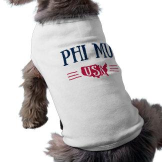Camiseta Phi MU - EUA