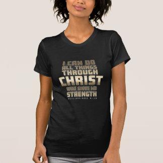 Camiseta Phil4: 13 eu posso fazer todas as coisas com o