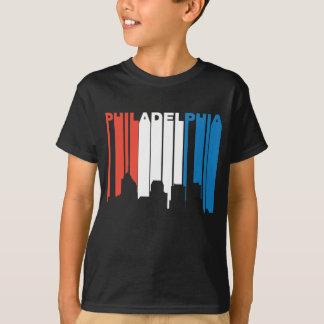 Camiseta Philadelphfia branca e azul vermelha Pensilvânia