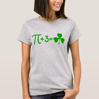 Camiseta Pi + 3 = trevo