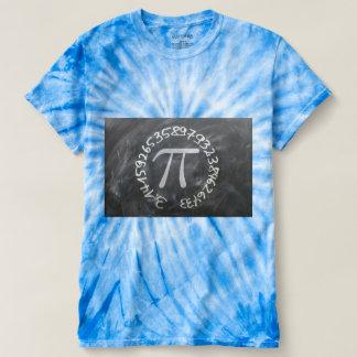 Camiseta Pi contra um fundo