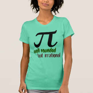 Camiseta Pi, total mas irracional