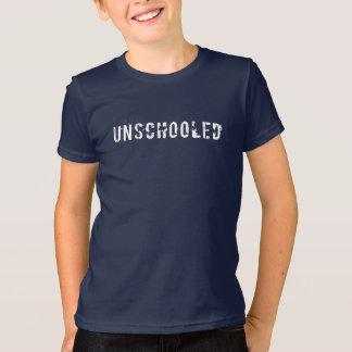 Camiseta Pia batismal afligida Unschooled