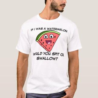 Camiseta Piada divertida da melancia