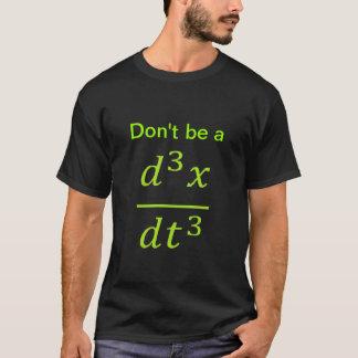 Camiseta piada do cálculo/física