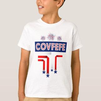 Camiseta Piada do trunfo de Covfefe para a 4o da celebração