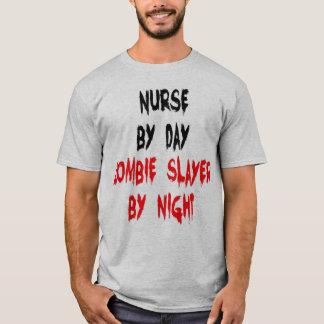 Camiseta Piada do zombi da enfermeira