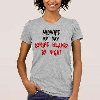 Camiseta Piada do zombi da parteira