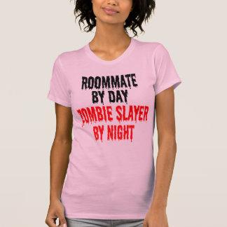 Camiseta Piada do zombi do companheiro de quarto