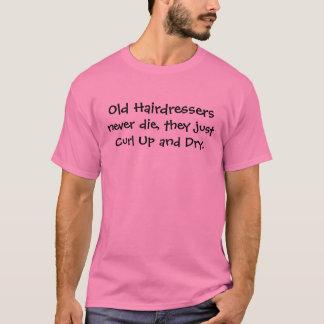 Camiseta piada dos armários do cabelo