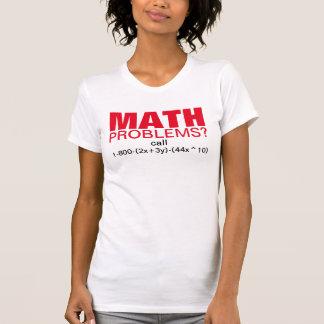 Camiseta Piada engraçada do tutor da matemática. Obtenha a
