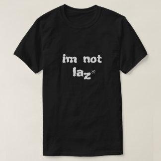 Camiseta Piada sobre a preguiça