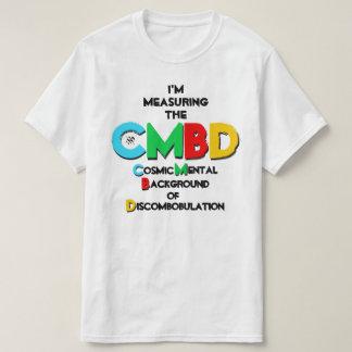 Camiseta Piada sobre a radiação de fundo cósmica