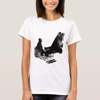 Camiseta pianista