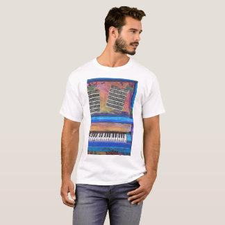 Camiseta Piano colorido