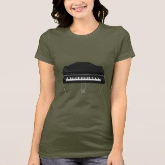 Camiseta Piano de cauda elétrico: modelo 3D: