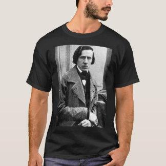 Camiseta Piano do pianista de Frederic Chopin