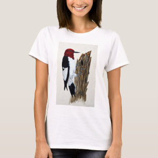 Camiseta pica-pau Vermelho-dirigido