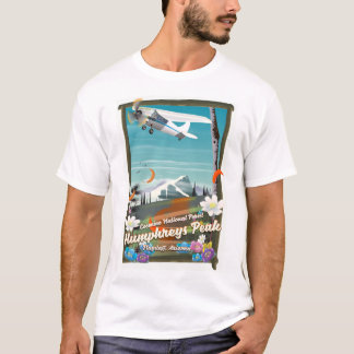Camiseta Pico de Humphreys, pico de Humphreys, mastro,