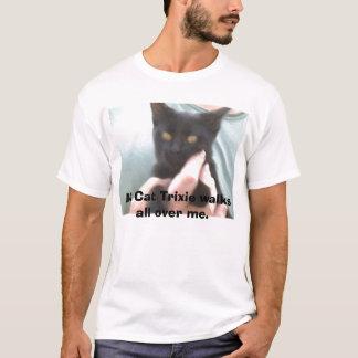 Camiseta PICT0029, meu gato Trixie anda por todo o lado em