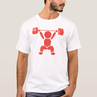 Camiseta Pictograma do ato de agarrar do poder