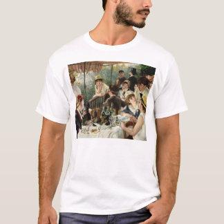 Camiseta Pierre Renoir- o almoço do partido do barco
