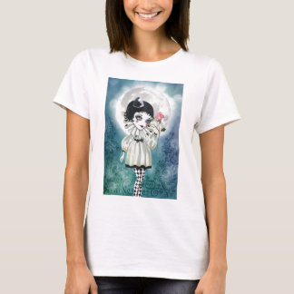 Camiseta Pierrette sob a lua gelada