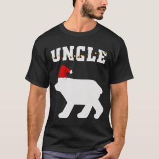 Camiseta Pijama do Natal do tio Carregamento Com Papai noel