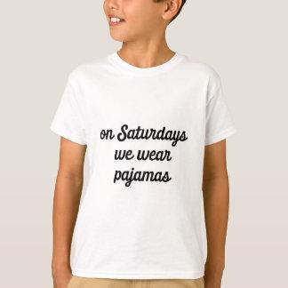 Camiseta Pijamas de sábado