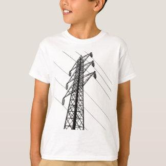 Camiseta pilão da eletricidade