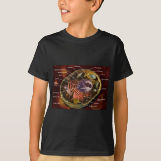 Camiseta Pilha animal