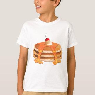 Camiseta Pilha da panqueca