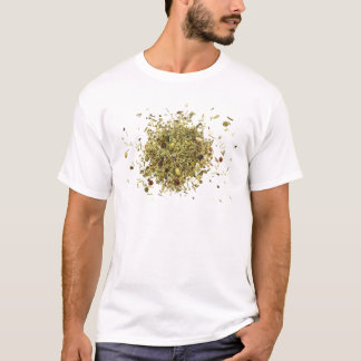 Camiseta Pilha de ervas misturadas