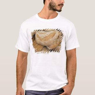 Camiseta Pilha de grandes nacos do pão