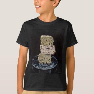 Camiseta Pilha do queijo de Stilton