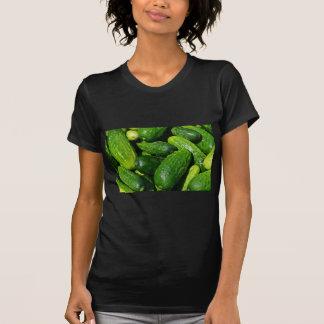 Camiseta pilha dos pepinos