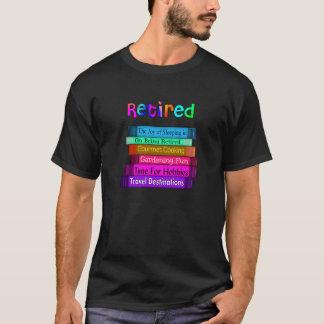 Camiseta Pilha original dos presentes da aposentadoria de