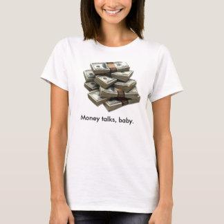 Camiseta Pilhas de dinheiro