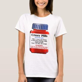 Camiseta Pills_ louco