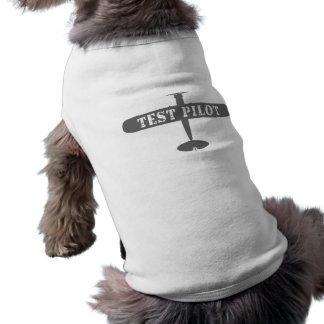 Camiseta Piloto do avião & de teste
