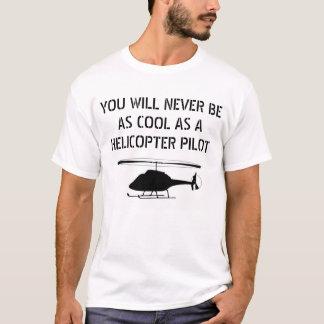 Camiseta Piloto do helicóptero