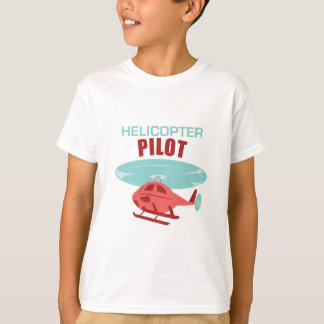 Camiseta Piloto do helicóptero