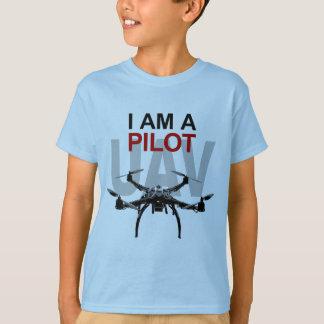 Camiseta Piloto do UAV Quadpilot Quadcopter