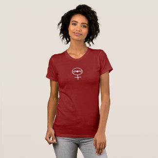 Camiseta Piloto fêmea DJI Mavic do zangão